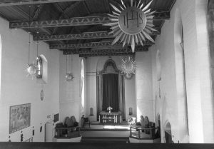 Interior of St Saviours church