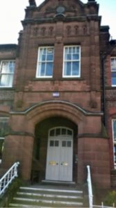 Entrance to Royal School for the Blind