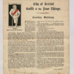 An article on holiday cottages from early 20th century