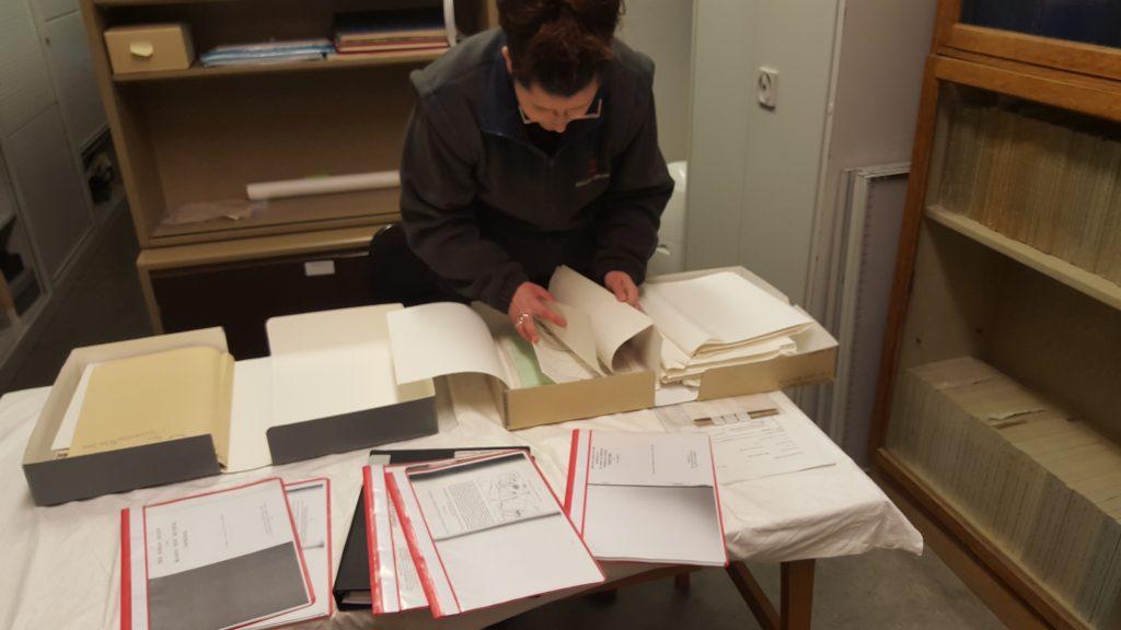 Jo Gray Archive Room Dover Castle